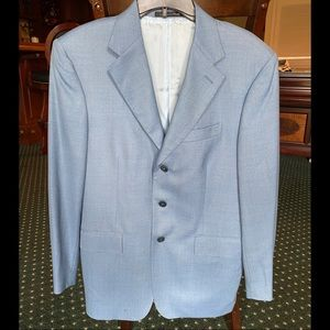 Other - Italy Tailored Light Blue Blazer